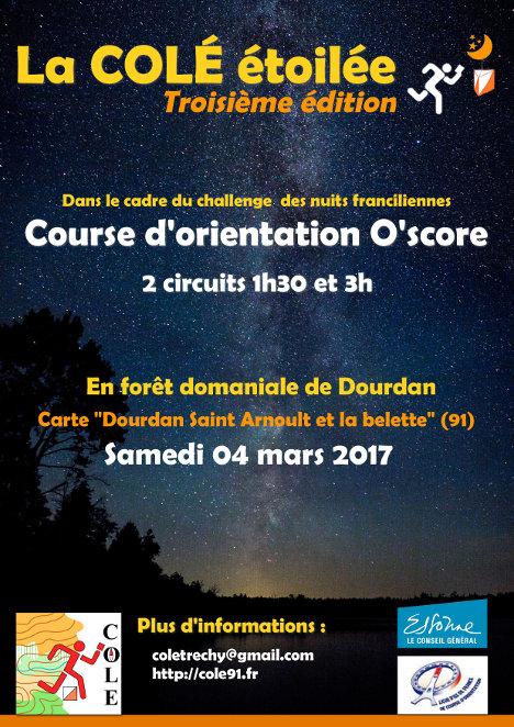 Flyer COLE étoilée 2017