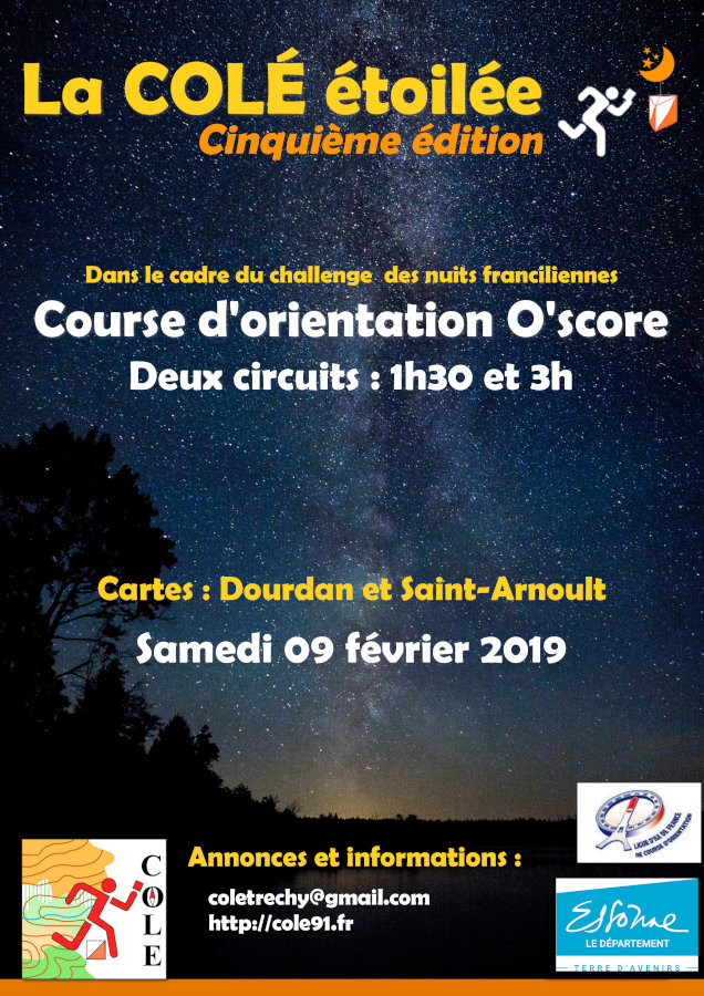 Flyer COLE Etoilée 2019